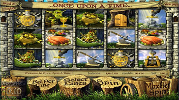 Once Upon A Time3D Online Pokies