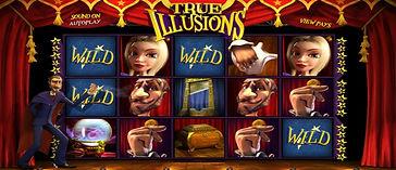 True Illusions 3D Online Pokies