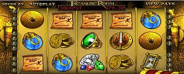 Treasure Room Progressive Online Pokies