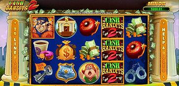Cash Bandits 2Online Pokies