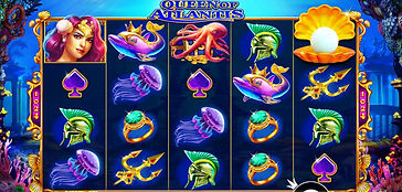 Queen of Atlantis Online Pokies