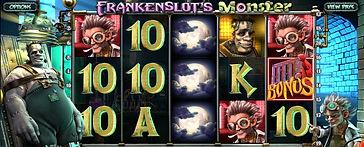 Frankenslots Monster 3D Online Pokies