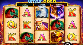 Wolf Gold - Progressive Pokies Game