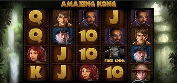 Amazing Kong Online Pokies