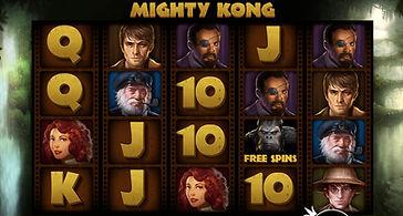 Mighty Kong Online Pokies