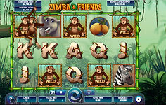 Zimba & Friends Online Pokies