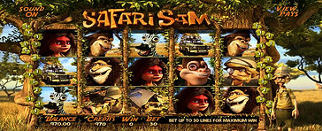 Safari Sam 3DOnline Pokies