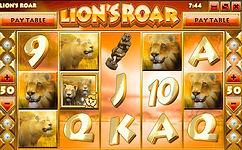 Lions Roar Online Pokies