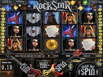 Rockstar 3D Online Pokies