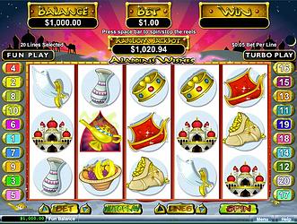 Aladdins Wishes Online Slot