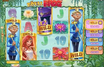 Royal Frog Online Pokies
