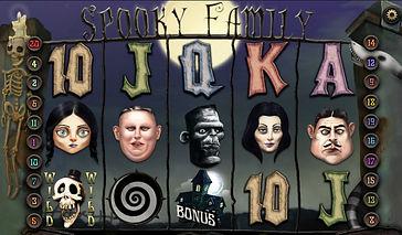 Spooky Family Online Pokies