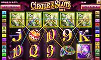 Cirque Du Slots Online Pokies