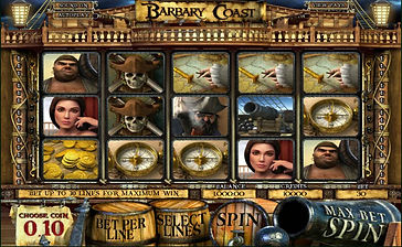 Barbary Coast 3D Online Pokies