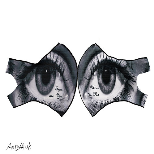 "Arty Mask ""Eyeballs"""