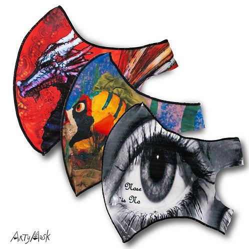 Arty Masks 3-Pack