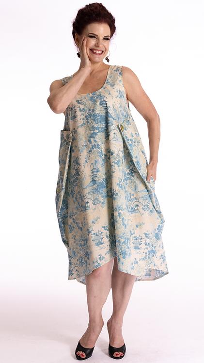 Natsu Dress Blue