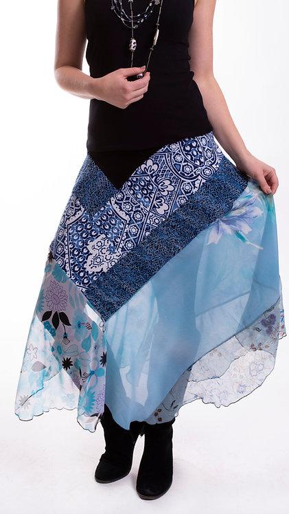 """Veena Skirt """"Blue"""""""