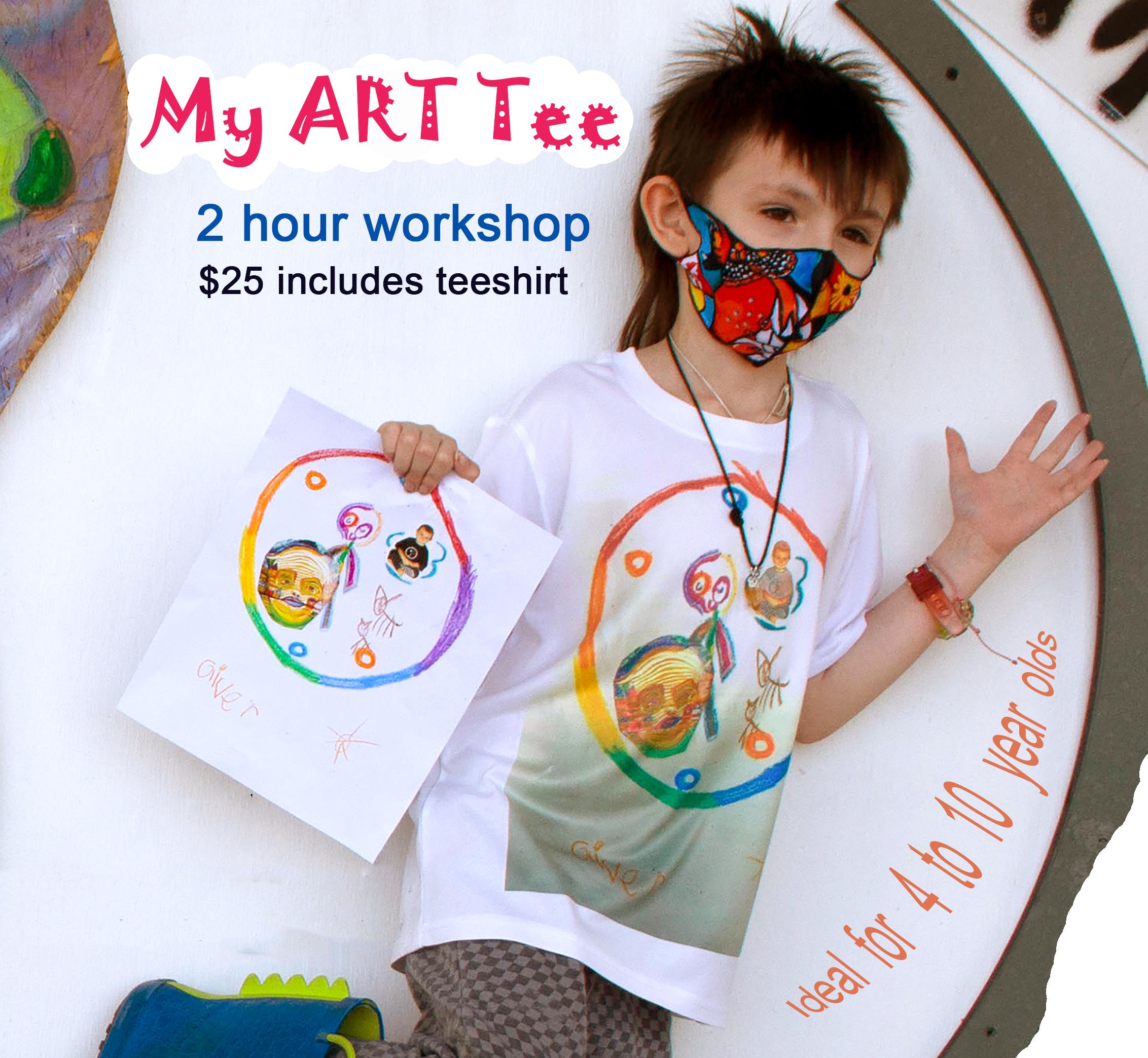 My ART Tee Workshop