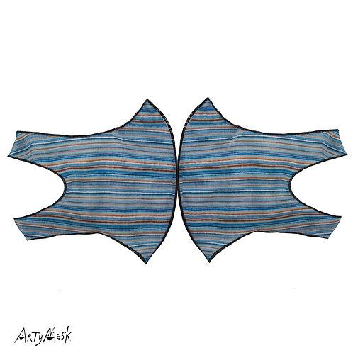 """Arty Mask """"Pin Stripe"""""""