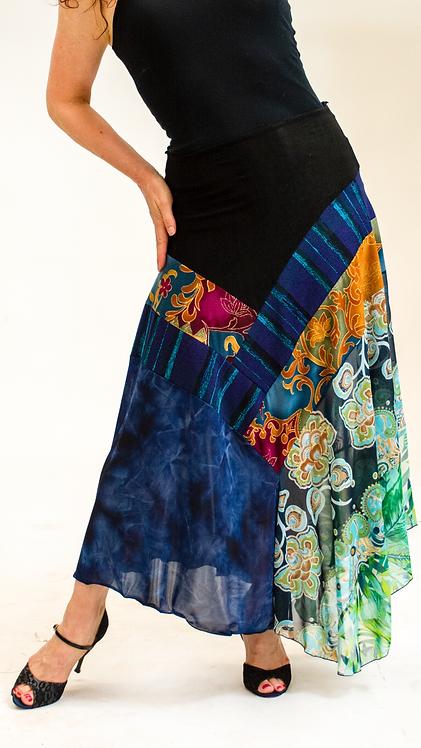 "Veena Skirt ""Dark Blue"""