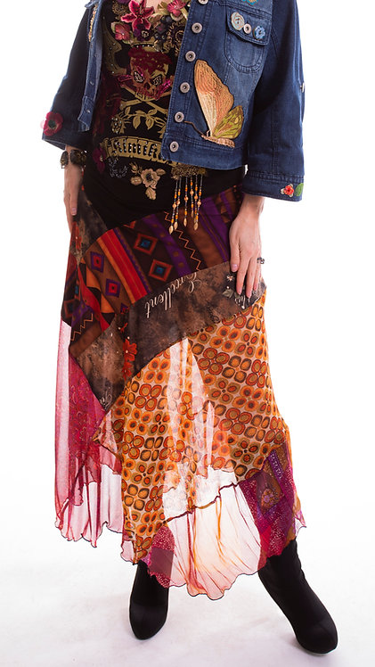 "Veena Skirt ""Copper"""