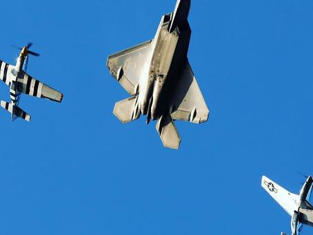 Air Force Heritage, F-22 Raptor demo teams