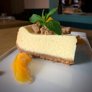 Peach Cobbler Cheesecake - Montly Special