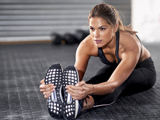At home workouts and simple, healthy meal ideas