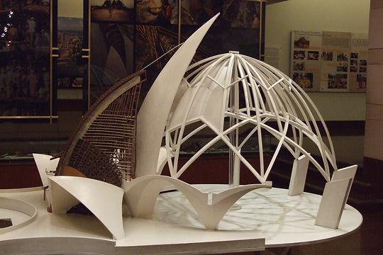 model showing construction methods
