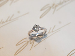 Customer Paul's proposal ring