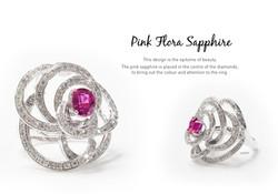 Pink Flora Sapphire