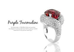 Purple Tourmaline - SJR226