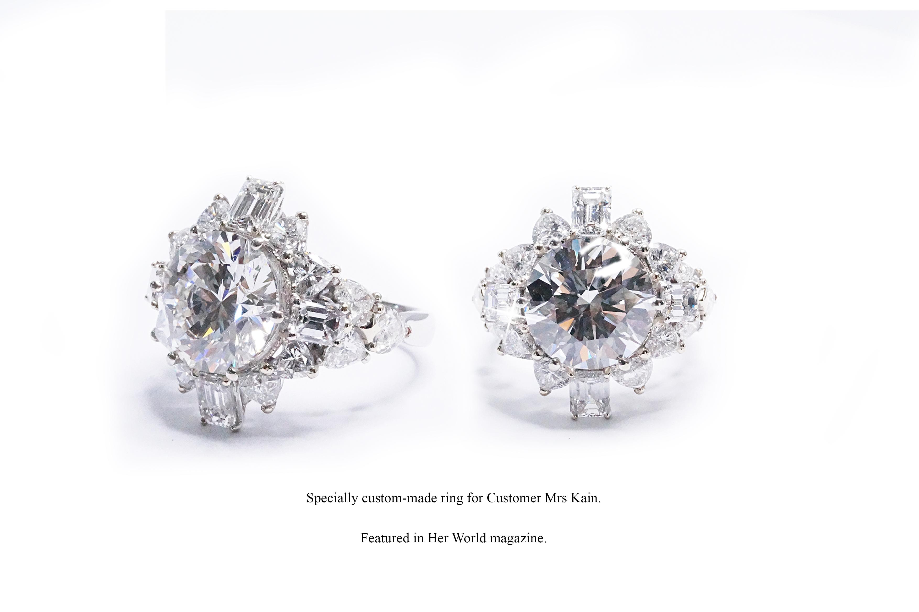 Customers Mrs Kain's Ring