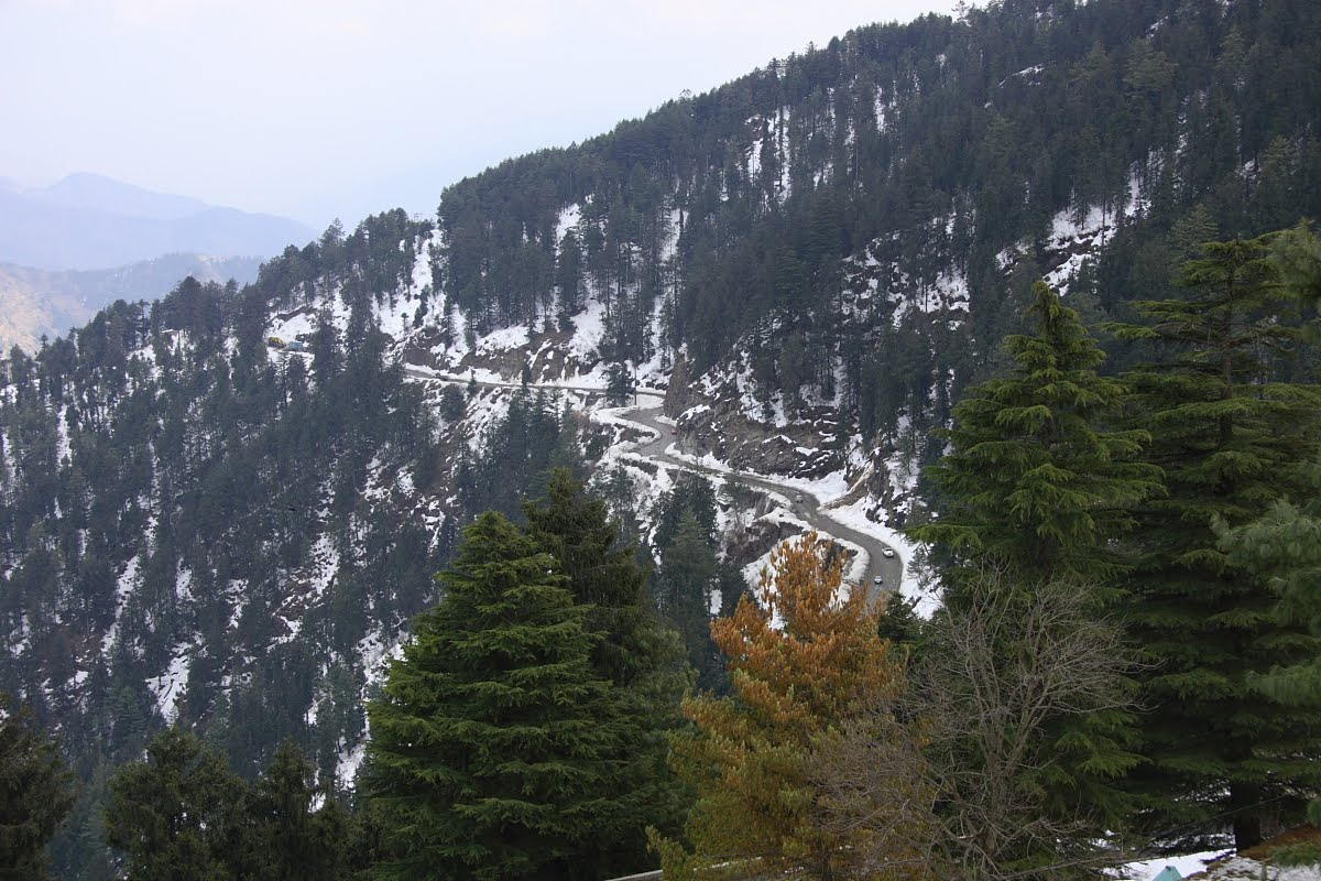 Snow-capped Chail hills