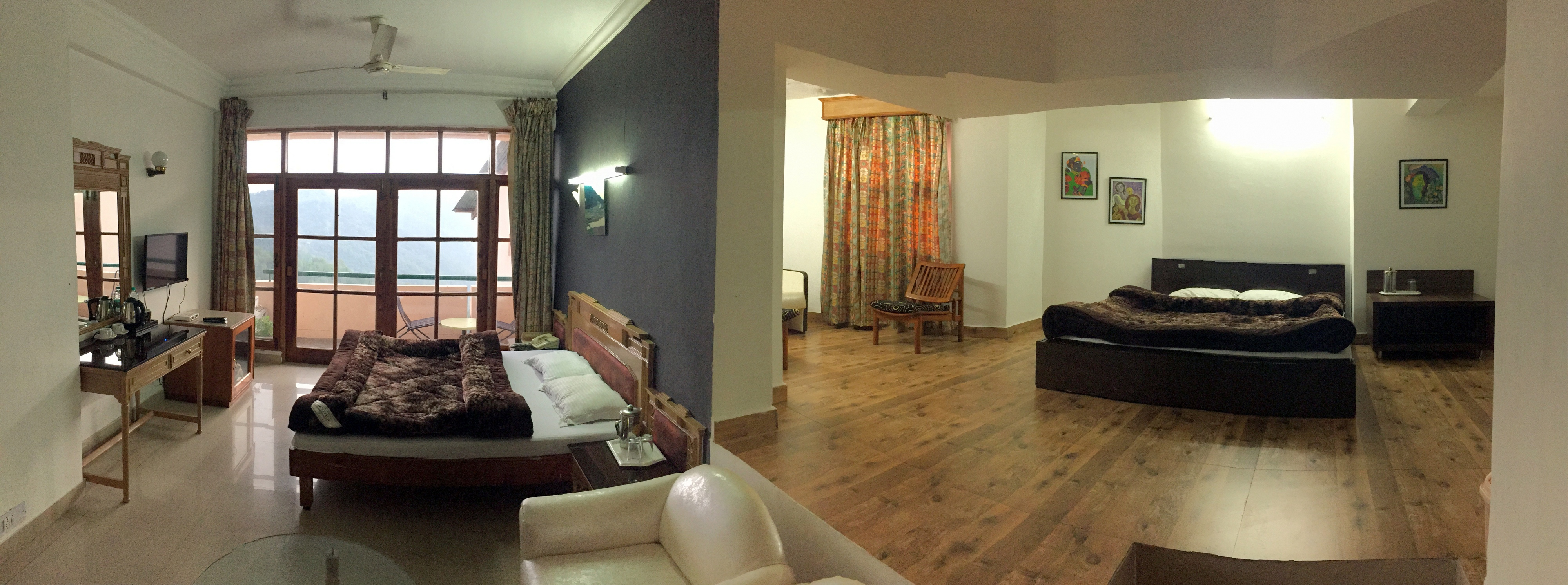 Family Suite Room at Chail Residency