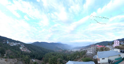 Chail Residency valley view