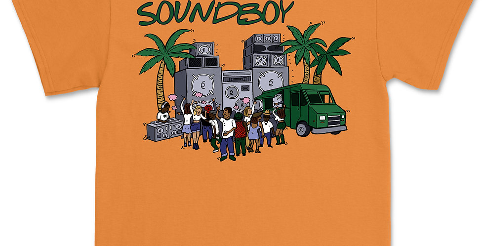 SOUNDBOY ORANGE T-SHIRT