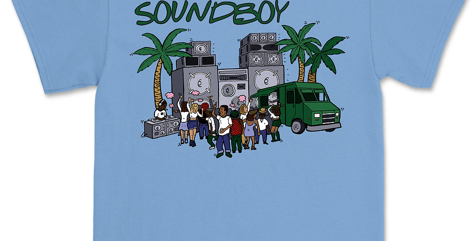 SOUNDBOY BLUE T-SHIRT