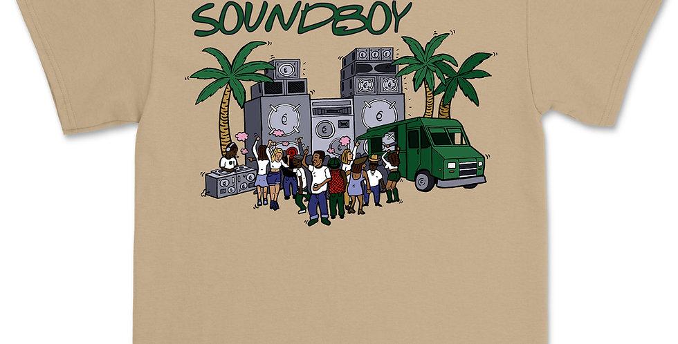 SOUNDBOY SAND T-SHIRT