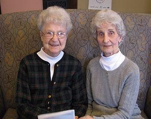 Friendship between client and volunteer.