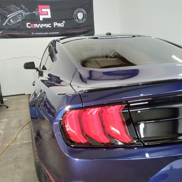 2019 Ford Mustang with professional grade Ceramic Pro coating