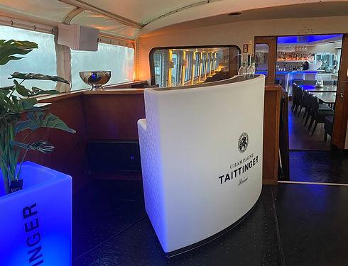 Unsere Taittinger Bar