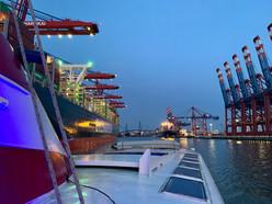 Hafen Atmosphäre