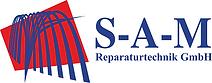 Logo SAM Reparaturtechnik Farbe nebenein