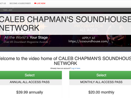 We are happy to welcome Caleb Chapman's Soundhouse to the SBN family.