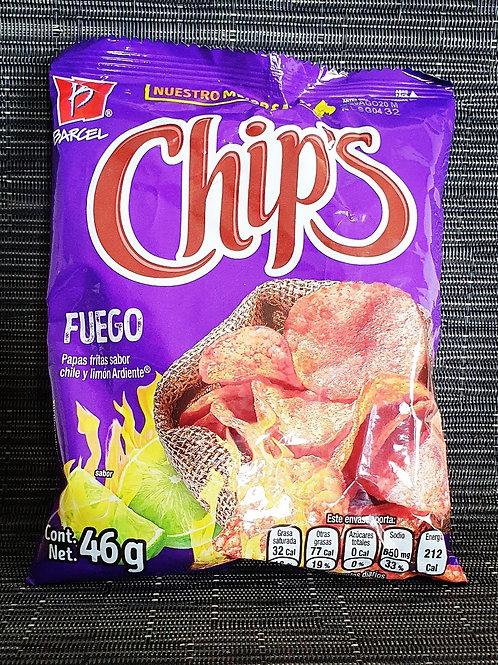 Chips Lays Fuego