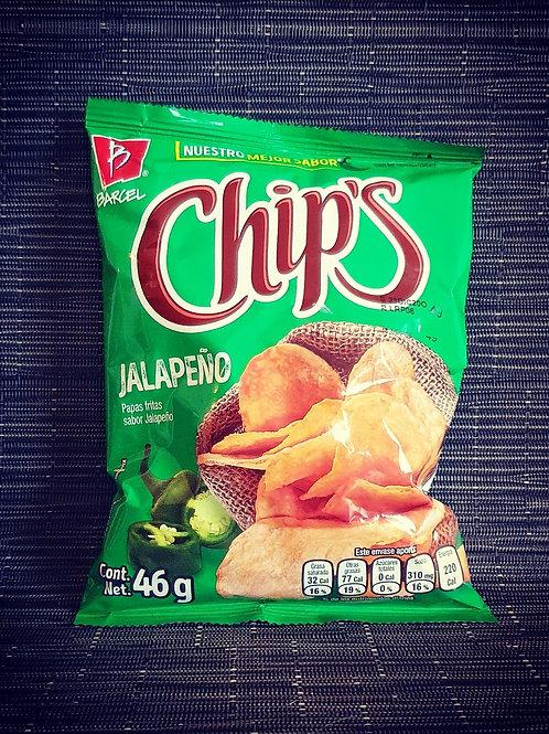 Chips Lays Jalapeños