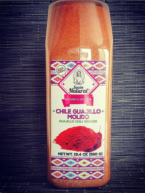 Piment Guajillo en poudre (550g)