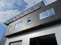 Nieuwbouw kantoor en appartementen